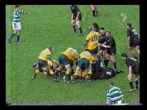 2000 Bledisloe Cup - All Blacks v Wallabies