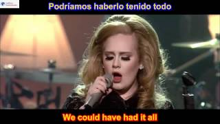 Video Rolling In The Deep - Adele (SUBTITULADO EN INGLES ESPAÑOL LYRICS SUB HD ) MP3, 3GP, MP4, WEBM, AVI, FLV November 2018
