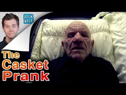 casket - We brought a casket into our garage and scared some people for a few days. It took a bit to talk my wife into bringing an actual coffin into our home so you ...