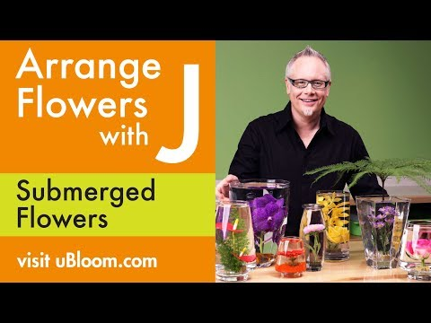 Flowers - Join J Schwanke... The Flower Expert from uBloom.com and learn how to design Flowers and Create FUN Flower Projects. JTV teaches you Flower Design STEP BY ST...