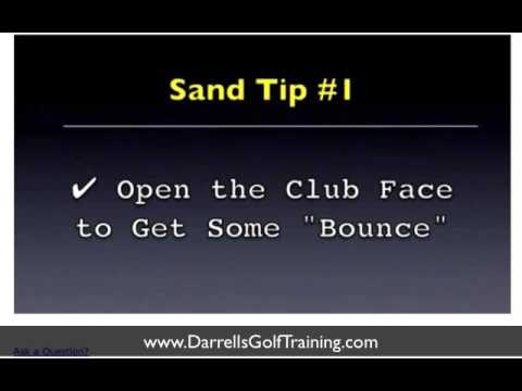Get out of the Sand – Golf Swing Bunker Lesson