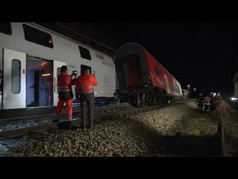Σύγκρουση τρένων με τραυματίες