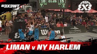 Liman vs NY Harlem was arguably the most spectacular game on the first day of action at the Saskatoon Masters. Check out the full game in re-live!Subscribe to the FIBA3x3 channel: http://bit.do/SubscribeFIBA3x3More on:http://twitter.com/FIBA3x3http://www.facebook.com/FIBA3x3http://fiba3x3.comhttp://instagram.com/FIBA3x3