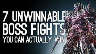 Video 7 Unwinnable Boss Fights You Can Beat If You're Good Enough MP3, 3GP, MP4, WEBM, AVI, FLV Agustus 2019