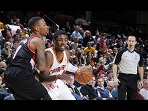 IN - Kyrie Irving squared off against Damian Lillard in a battle between two of the league's hottest young point guards. Visit nba.com/video for more highlights. ...
