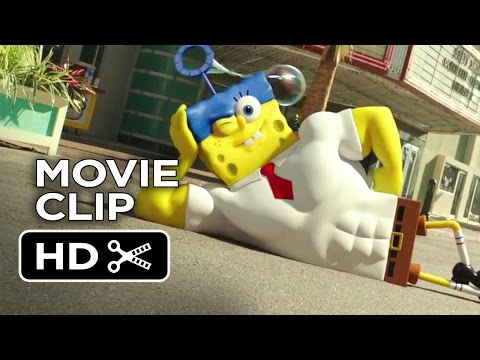 The SpongeBob Movie: Sponge Out of Water (Clip 'Cannonball')