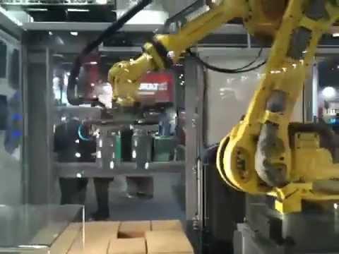 Cermex robot palletiser