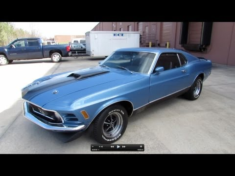 1970 Ford Mustang Mach I Fastback 351C Start Up, Exhaust, and In Depth Review