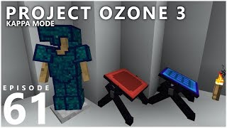 Project Ozone 3 Kappa Mode - HIGH-TECH BENCH [E61] (Modded Minecraft Sky Block)