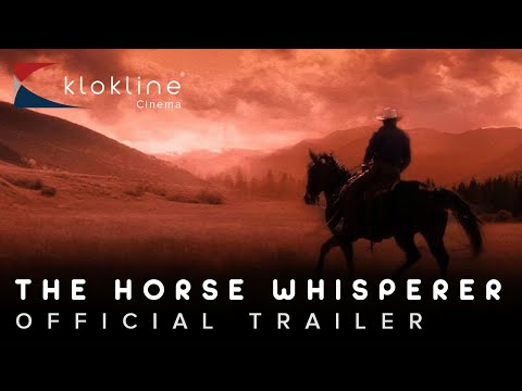 1998 The Horse Whisperer Official Trailer 1 Touchstone Pictures