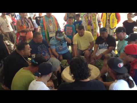 Stoney Creek @ Salamanca Powwow....video 3