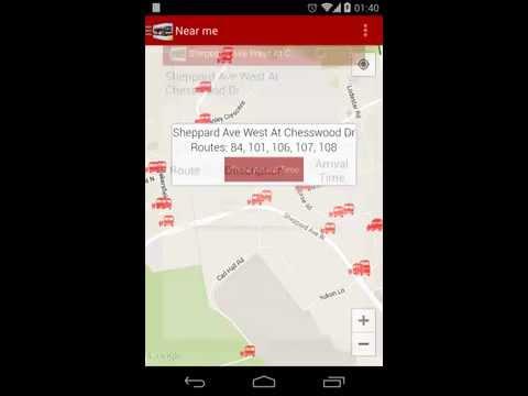 Video of TTC Toronto Transit Live