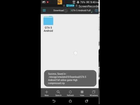 How to Download GTA 5 ANDROID 100% working