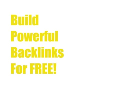 How to Build Quality Backlinks   Without Getting Penalized! (2017) FREE!