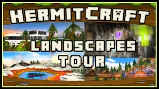 Hermitcraft 4 - World Tour Of My Massive Landscaping Jobs And Builds
