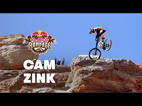 Red - CLICK for more Rampage 2014 videos: http://win.gs/1pdRlUG Check out the POV of Cam Zink's huge 360 step down at Red Bull Rampage 2014. _ Experience the world of Red Bull like you have never...