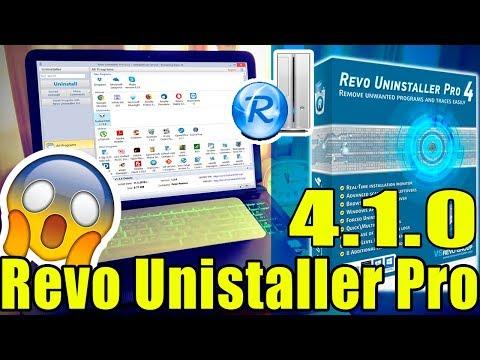 Descargar Revo uninstaller Pro 4.1.0 desinstala o elimina cualquier programa | 2019  ✔