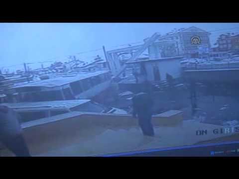 Konya'da Feci Kaza Güvenlik Kamerasında