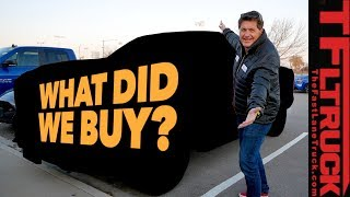 Can You Guess What Brand New Truck We Just Bought? by The Fast Lane Truck