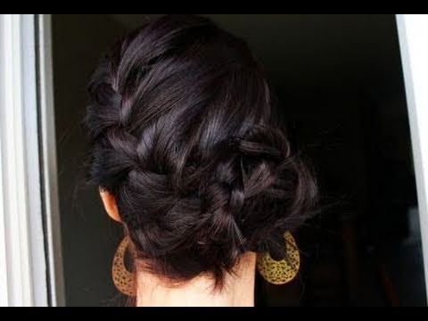 Creative Hairstyles: French Braid Bun