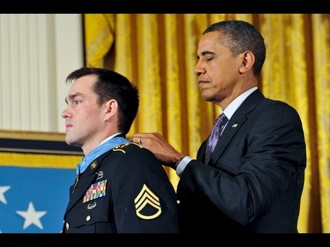 Clinton Romesha Presented the Medal of Honor