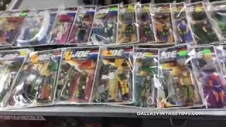 DVT Talks 06/30/17 LIVE - 1989 Hasbro GI Joe Action Figure LineDallas Vintage Toys is a vintage toy store in Dallas Texas specializing in toys from the 70's, 80's ad 90's! The biggest genre of toys in the store is STAR WARS of which every generation from 1977-2015 is available and in stock! You have to stop by and see it for yourself at 12052 Forestgate Dr, Dallas TX 75243, Phone 214-827-7060, or visit them online at www.dallasvintagetoys.com - WE BUY TOYS!