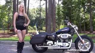 8. Used 2013 Harley Davidson Sportster 1200 Custom Motorcycles for sale