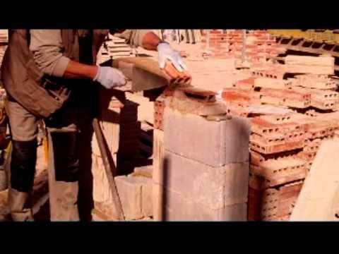cimbra - Construcció sense cindri d'un arc rebaixat nº 6.