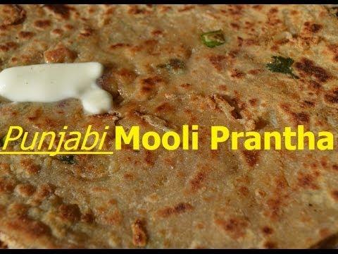 Mooli Paratha Punjabi Recipe.Muli Parantha. Mooli Ka Parantha.Yummy Raddish Bread
