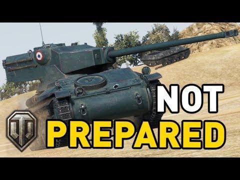 World of Tanks    Not Prepared!