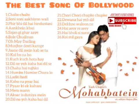 Lagu Lagu India Paling Populer Sepanjang Masa,The Best Of Song Bollywood
