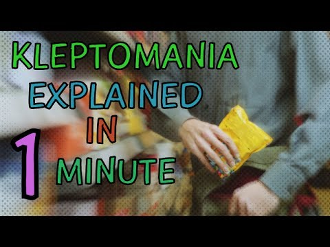 What Is Kleptomania? Kleptomania Disorder Explained In 1 Minute - Symptoms, Treatment - Kleptomaniac