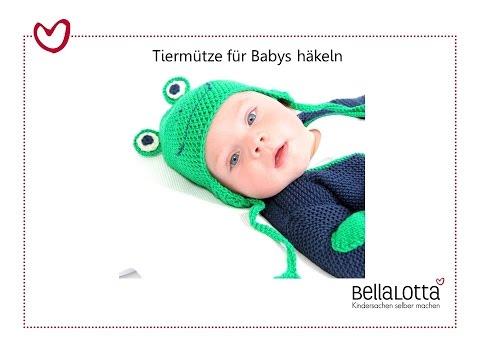 Tiermützen für Babys häkeln – mit BellaLotta