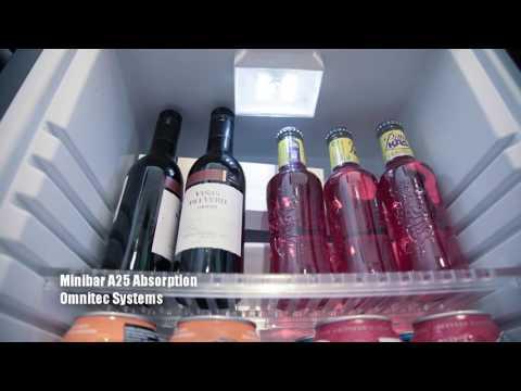 Omnitec Minibar A25 Puerta de Cristal