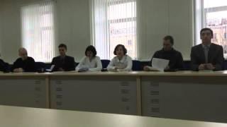 Выступление М. Морозовой на семинаре 26.11.2016