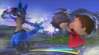 Villager and Lucario's tricks are unrivaled!