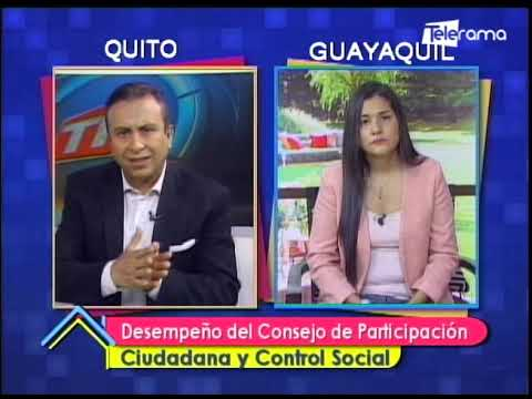 Desempeño del consejo de participación ciudadana y control social