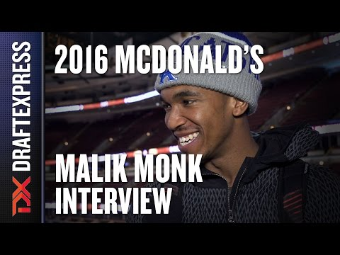 Malik Monk - 2016 McDonald's All American Interview