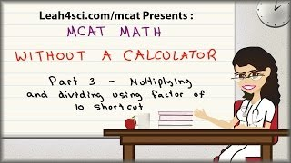 MCAT Math Vid 3 - Multiplying and Dividing Complex Numbers Usi...