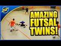 Futsal Skills You Never Seen Before By TWINS! ★ Ronaldo/Neymar/Falcao/SkillTwins Skills