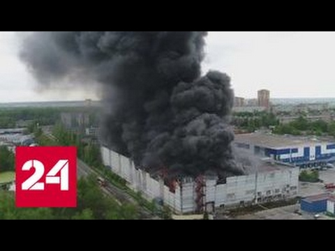 На складе в Лыткарине потушен огонь