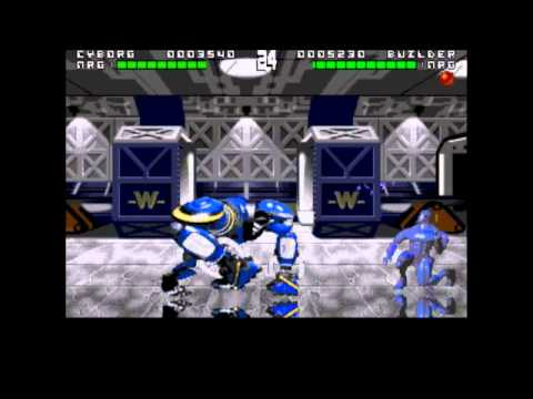 Rise of the Robots Megadrive