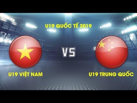 FULL | U19 Việt Nam vs U19 Trung Quốc| Giải VĐ U19 Quốc tế 2019 | VFF Channel - Thời lượng: 1:55:29.