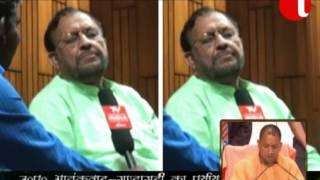 Suresh khanna BJP Cabinet Minister Uttar Pradesh Yogi Gov Interview