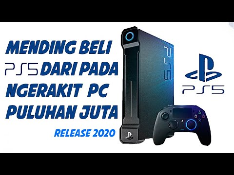 PlayStation 5 (PS5) With 8K GRAPHICS RESOLUSI [RELEASE 2020]