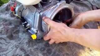 Замена двигателя на мотоблоке МТЗ