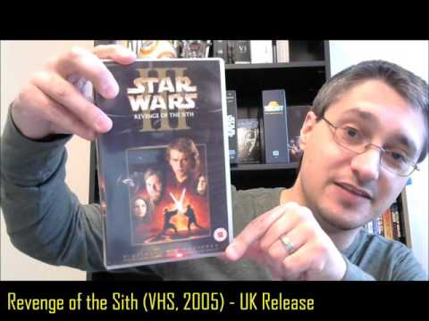 From the Star Wars Home Video Library #18.1: Revenge of the Sith UK VHS (2005)