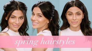 Easy Spring Hairstyles | Hair Tutorial by Teni Panosian