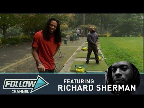 Richard Sherman: Home on the Driving Range