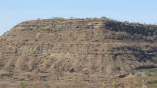 Daulatabad India  city photos : Pan of Deccan Traps Outcrop from Daulatabad, India